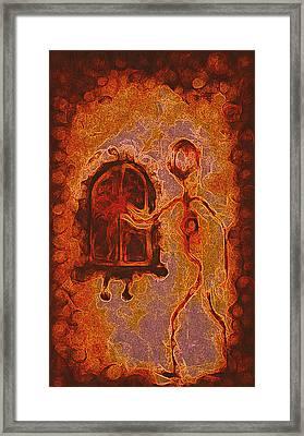 Reach Deep To See Framed Print by Aurora Art
