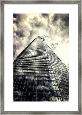 Reach For The Clouds Framed Print