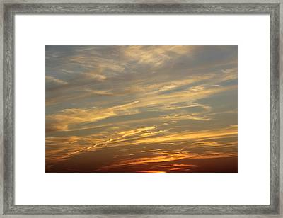 Reach For The Sky 7 Framed Print