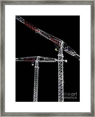 Framed Print featuring the photograph Reach For The Sky by Stephen Mitchell
