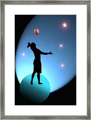 Reach For The Stars Framed Print by Barbara  White