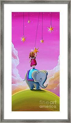 Reach For The Stars Framed Print by Cindy Thornton