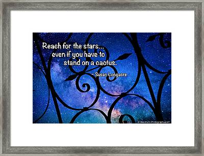 Reach For The Stars Framed Print by Mike Flynn