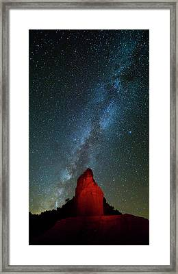 Framed Print featuring the photograph Reach For The Stars by Stephen Stookey