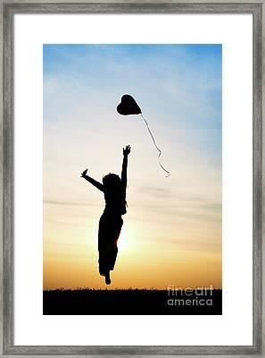Reach High Dream Deep Framed Print by Tim Gainey