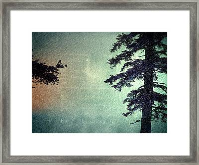 Framed Print featuring the photograph Reach Me  by Mark Ross