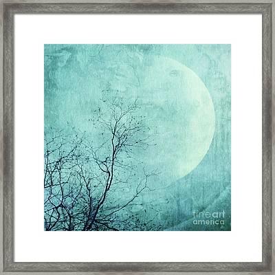 Reach For The Moon Framed Print