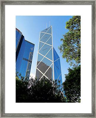 Framed Print featuring the photograph Reach To The Sky by Blair Wainman