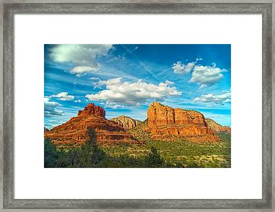 Reach Up And Touch The Sky Framed Print