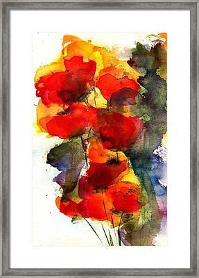 Reaching Framed Print by Anne Duke