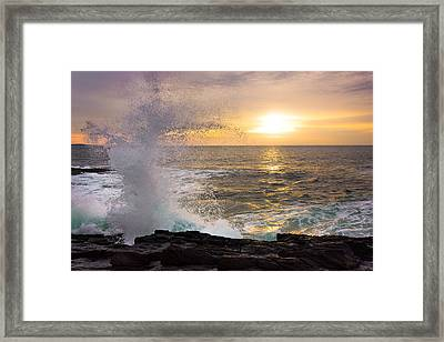 Reaching Framed Print by Benjamin Williamson