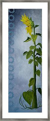 Framed Print featuring the painting Reaching For The Light by Jane Autry