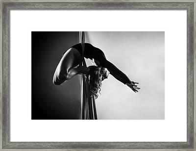 Reaching Light Framed Print