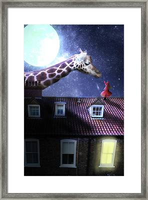 Reaching Out Framed Print by Nathan Wright