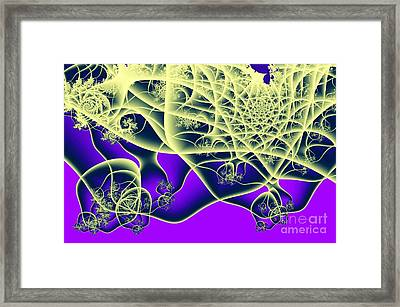Reaching Out Framed Print by Ron Bissett