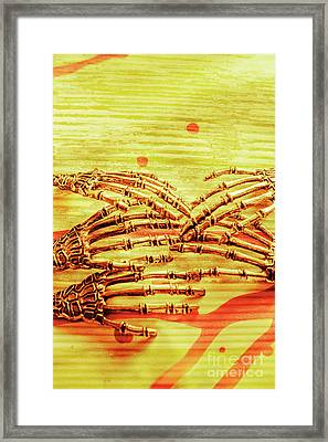 Reaching The Technological Singularity  Framed Print by Jorgo Photography - Wall Art Gallery