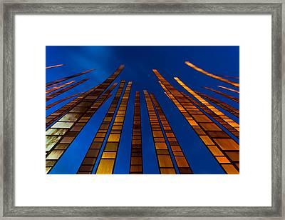 Reaching Framed Print by Thorsten Scheuermann