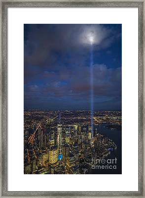 Framed Print featuring the photograph Reaching Up To Heaven by Roman Kurywczak