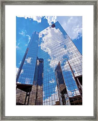Reaching Up To The Sky Framed Print
