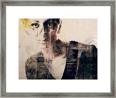 Read All About It  Framed Print by Paul Lovering