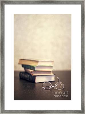 Read Framed Print by Evelina Kremsdorf
