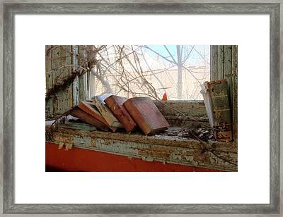 Read Framed Print by Kevin Brett