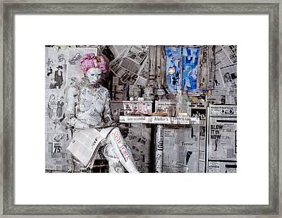 Read Me 1 Framed Print by Filippo Ioco