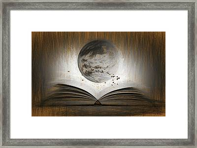 Read The Mind Of The Bird Framed Print by Sir Josef - Social Critic -  Maha Art