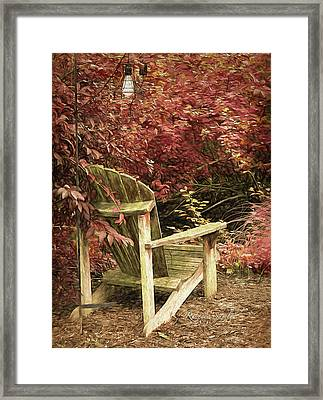 Reading Nook Framed Print