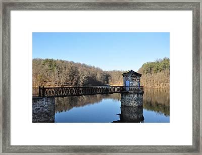 Reading Pa - Antietam Creek Framed Print by Bill Cannon