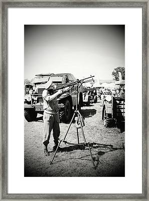 Framed Print featuring the photograph Ready Aim Fire by JLowPhotos