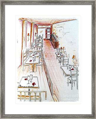 Ready And Waiting Framed Print by Barbara Chase