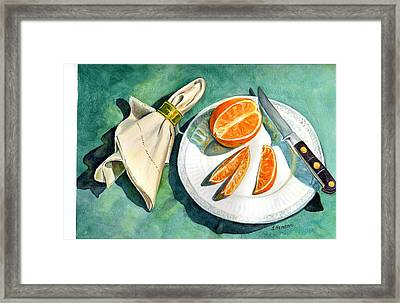 Ready For A Snack Framed Print