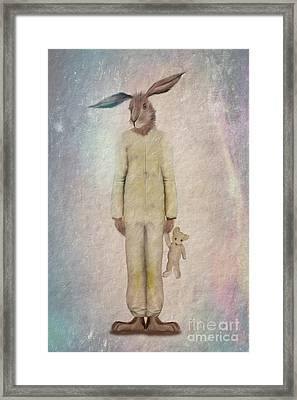Ready For Bed Framed Print by John Edwards