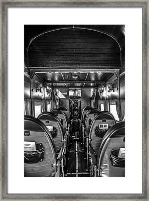 Ready For Boarding Framed Print