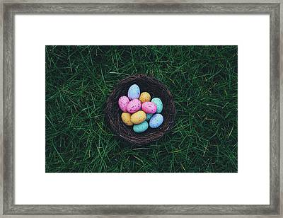 ready for Easter Framed Print by Happy Home Artistry