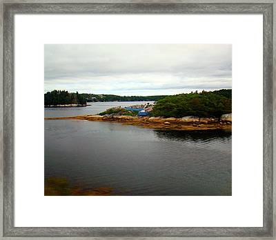Ready For Fishing Framed Print by Al Bourassa