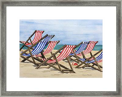 Ready For Fun Framed Print