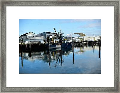 Ready For Launch Framed Print