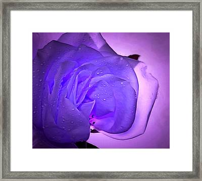 Ready For Love Framed Print by Krissy Katsimbras