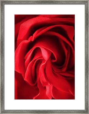 Ready For Love Framed Print