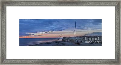 Ready For Summer Panorama Framed Print by Twenty Two North Photography