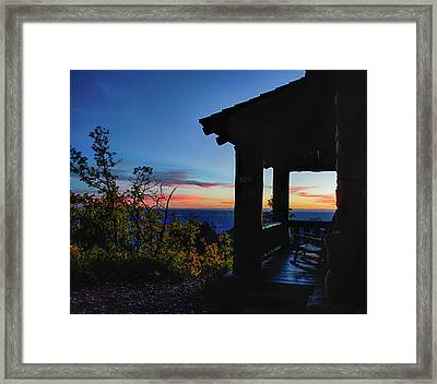 Ready For Sunset Framed Print