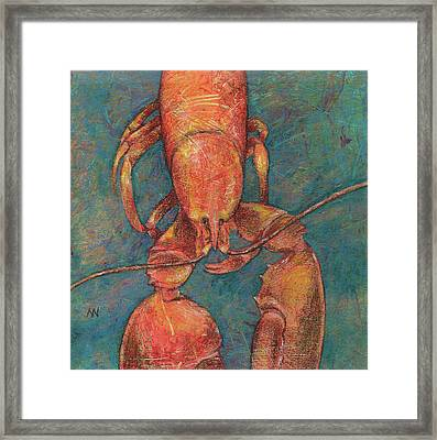 Ready For Suppah Framed Print