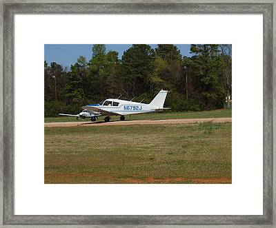 Ready For Takeoff Framed Print by Robert Margetts
