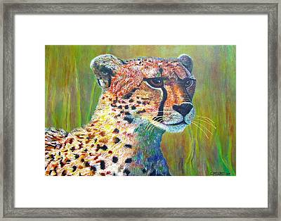 Ready For The Hunt Framed Print by Michael Durst