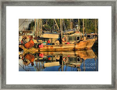 Ready For The Season Framed Print by Adam Jewell