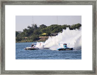 Ready For The Turn Framed Print
