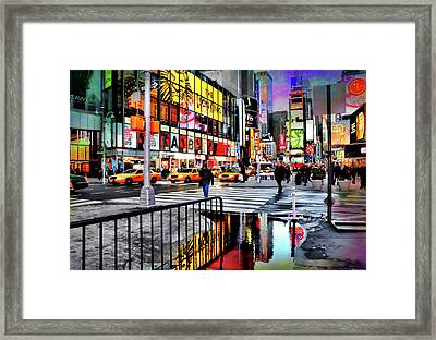 Framed Print featuring the photograph Ready Or Not by Diana Angstadt