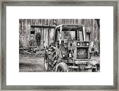 Ready To Go Bw Framed Print by JC Findley